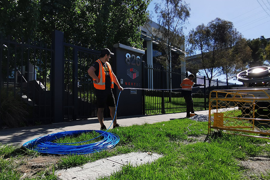 Australian made dark fibre network